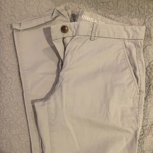 VGUC GAP Gray Chinos, straight fit (but stylish!)